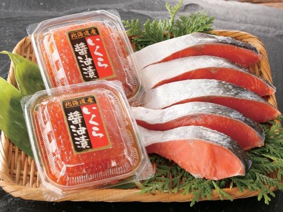 <47CLUB> 紅鮭・イクラセット【送料別】画像