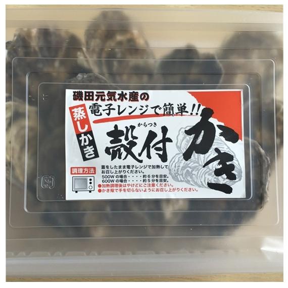 <47CLUB> 殻付き牡蠣(Lサイズ) 10個入 カキナイフ付き【送料無料】画像