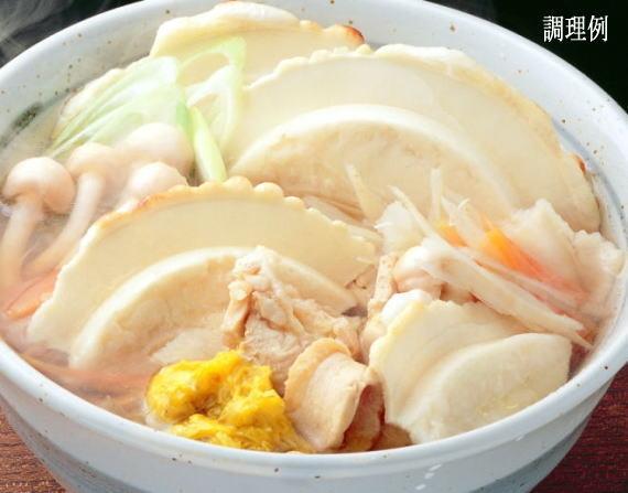 <47CLUB> 鍋用煮込み煎餅「八戸せんべい汁鍋っ子せんべい」(8枚入×2袋)画像