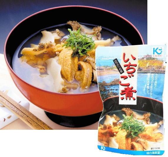 <47CLUB> 青森八戸のいちご煮スープ(スタンドパック)いちご煮丼も作れます。画像