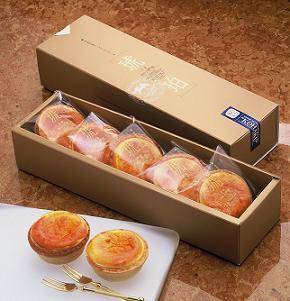<47CLUB> 本格派カマンベールチーズタルトケーキ「琥珀」 5個入画像