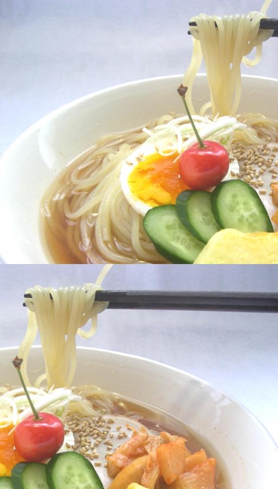 <47CLUB> 麺に自信!老舗麺屋の【新食感!もっちり「生」冷麺】 6食入★スープ・キムチ付★画像