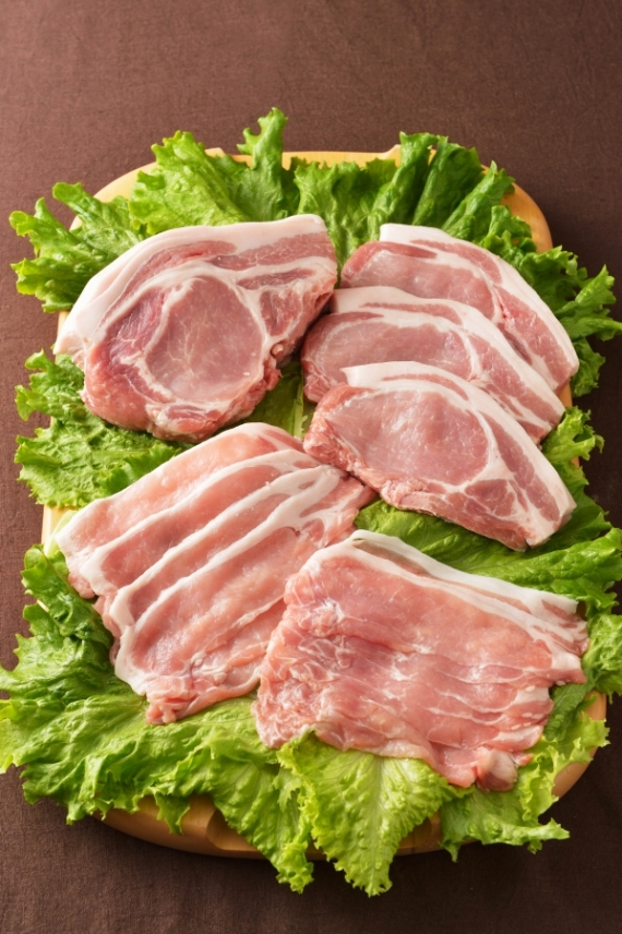 <47CLUB> 館ヶ森高原豚 ロース肉スライス200g画像