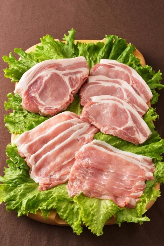 <47CLUB> 館ヶ森高原豚 ロース肉スライス500g画像