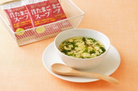 <47CLUB> 館ヶ森高原 昔たまごスープ画像