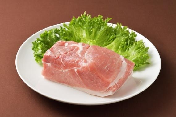 <47CLUB> 館ヶ森高原豚 モモ肉ブロック1Kg画像
