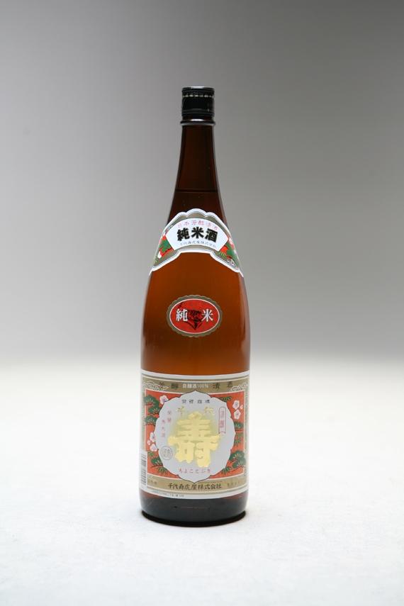 <47CLUB> 純米酒 千代寿1.8L画像