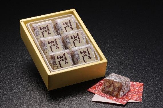 <47CLUB> 【味佳嵯のゆべし】醤油味(6個入り)