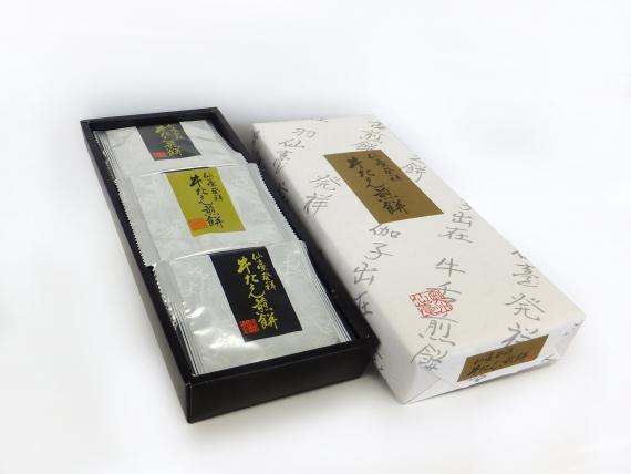 <47CLUB> 【仙臺発祥牛たん煎餅】塩味(12枚)画像