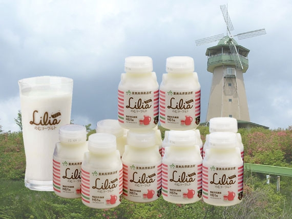 <47CLUB> のむヨーグルト「Lilia(リリア)」乳酸菌H61株(150ml×20本入り)画像