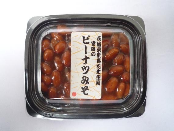 <47CLUB> 茨城県産ミソピーナツ(100グラム×4個入り)画像