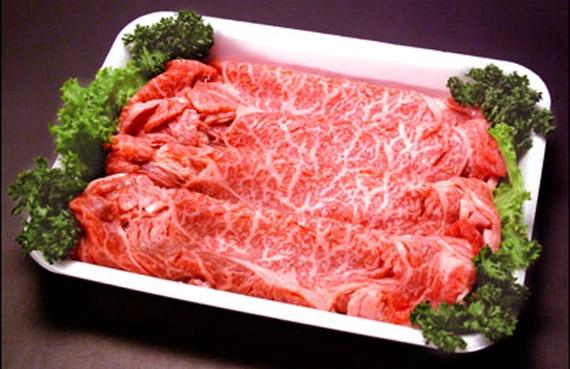 <47CLUB> とちぎ那須和牛 すき焼き用【送料無料】画像