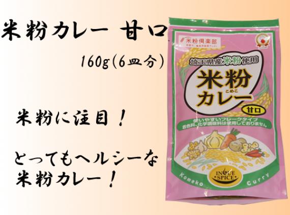 <47CLUB> 米粉カレー 甘口 160g(6皿分)【井上スパイス工業株式会社】画像
