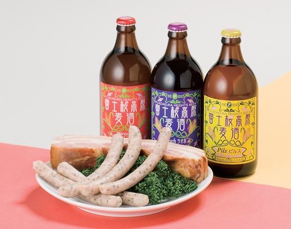<47CLUB> 富士桜高原麦酒 いちおしセット画像