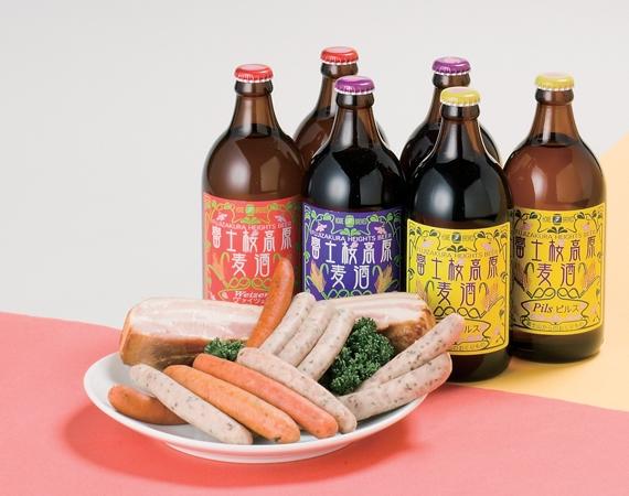 <47CLUB> 富士桜高原麦酒 まんぞくセット画像