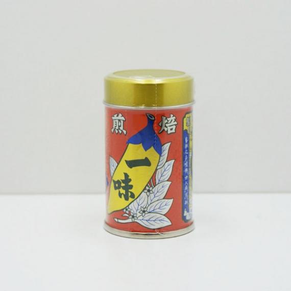 <47CLUB> 八幡屋礒五郎一味唐辛子 缶入 信州長野善光寺のお土産画像