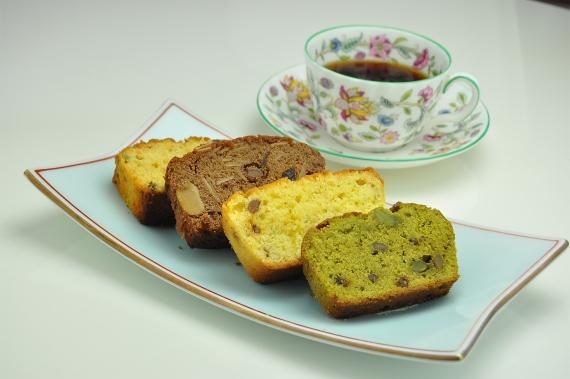 <47CLUB> 【送料無料】 納豆レストランのスイーツ『納豆パウンドケーキ 』4種類ギフトセット画像
