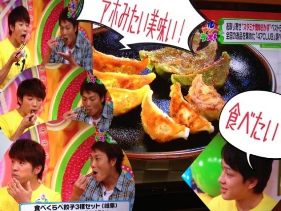 食べくらべ餃子3種セット(絶品・織部・飛騨牛)