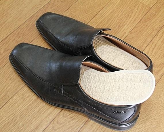<47CLUB> 【生活快適シリーズ】足のむれが気になる方に ヘチマ靴中敷き(2足セット)<送料無料>画像