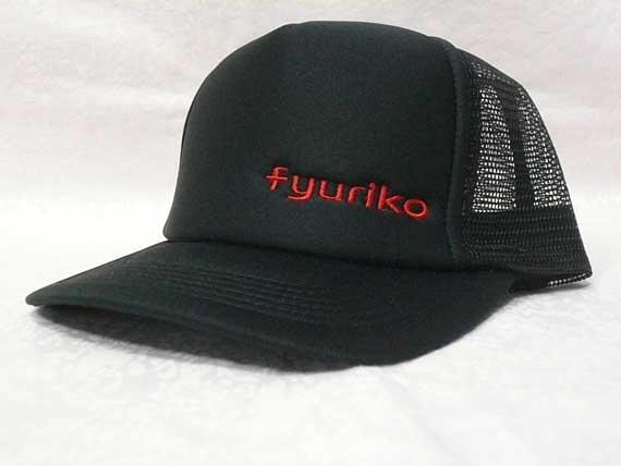 <47CLUB> fyurikoオリジナルキャップ帽子(ブラック)【送料無料】画像