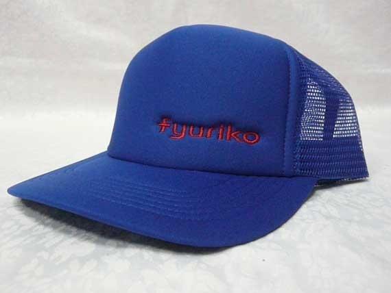 <47CLUB> fyurikoオリジナルキャップ帽子(ブルー)【送料無料】画像