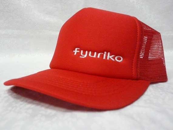 <47CLUB> fyurikoオリジナルキャップ帽子(レッド)【送料無料】画像