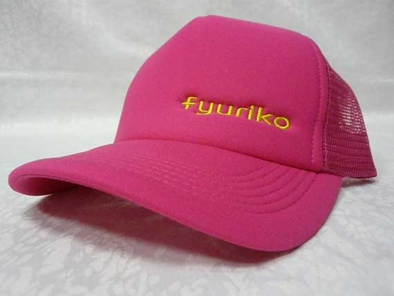 <47CLUB> fyurikoオリジナルキャップ帽子(ピンク)【送料無料】画像