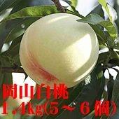 「晴れの国おかやま」岡山白桃(4個~6個)1.4kg