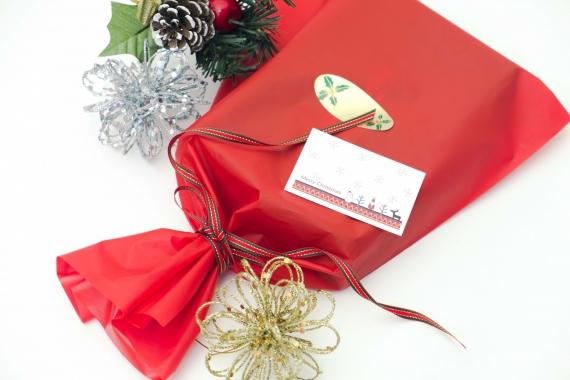 <可愛らしいAタイプ>クリスマスプレゼント用包装【期間限定】【…