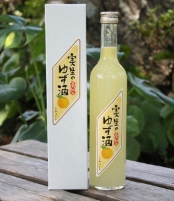 <47CLUB> 果実のお酒 実生のゆず酒画像