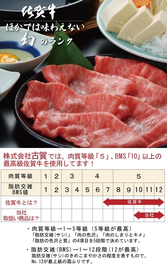 <47CLUB> 【佐賀牛】極上ローススライス(2人前300g)画像
