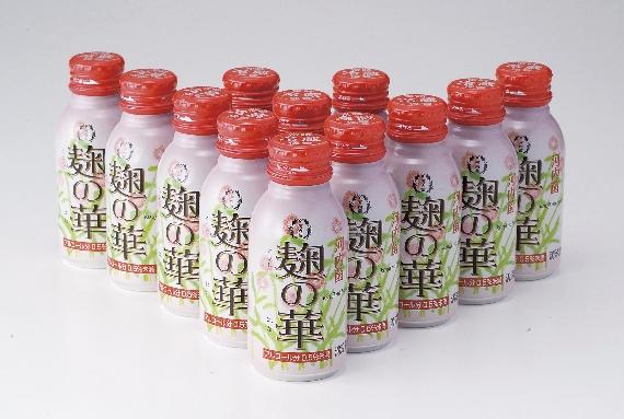 <47CLUB> 【清涼飲料水】河内菌「麹の華」(12本セット) ギフト 鹿児島画像