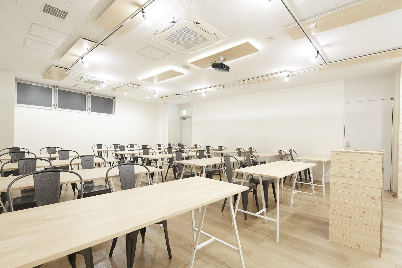 みんなの会議室 品川Room B   スクール形式