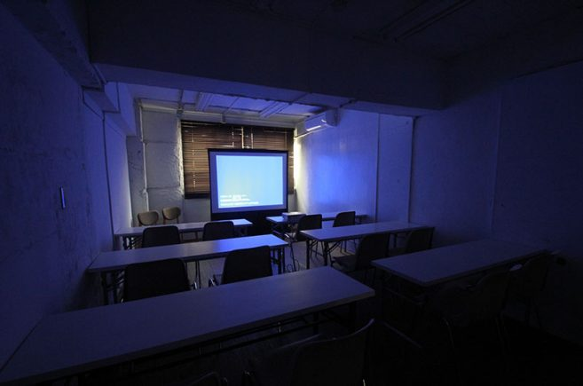 Creator's District805 | 14人用スクール設置+プロジェクター