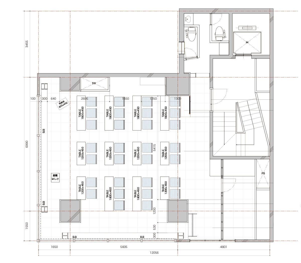 みんなの会議室 東京駅前3階 (ID:10019) 図面