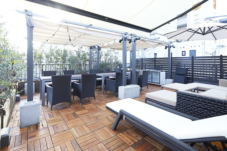 Lounge-R TERRACE 渋谷   くつろげるスペースもあります