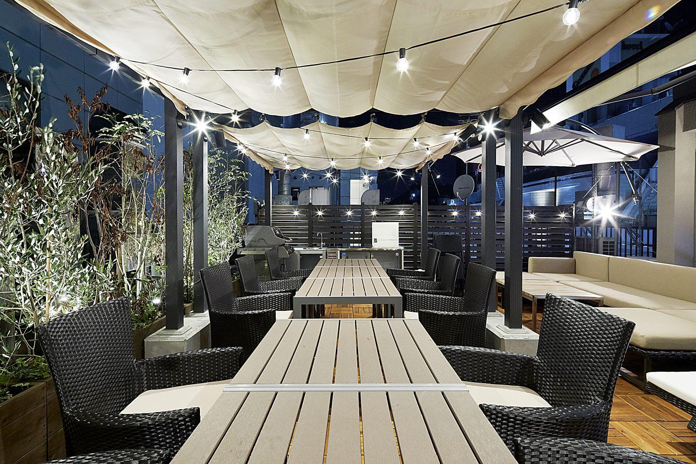 Lounge-R TERRACE 渋谷   夜利用時