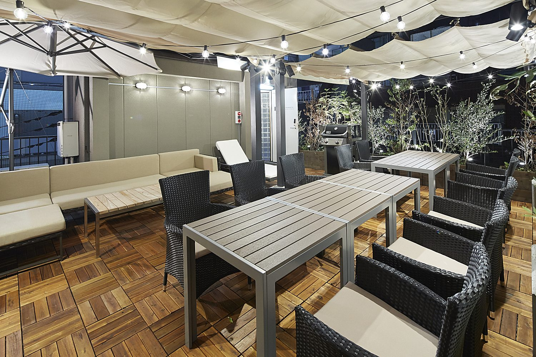 Lounge-R TERRACE 渋谷   お昼と雰囲気変わります