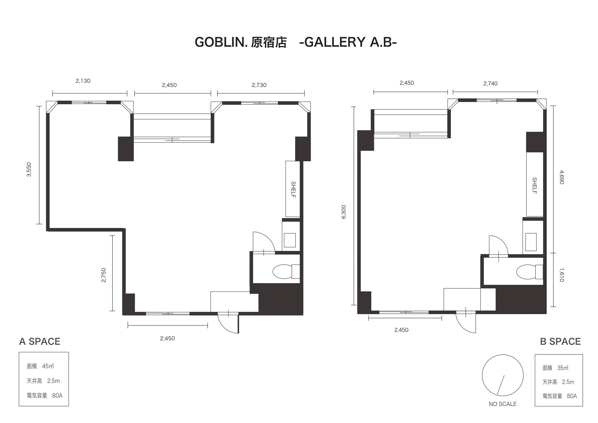 GOBLIN.原宿-GALLERY A- (ID:10061) 図面