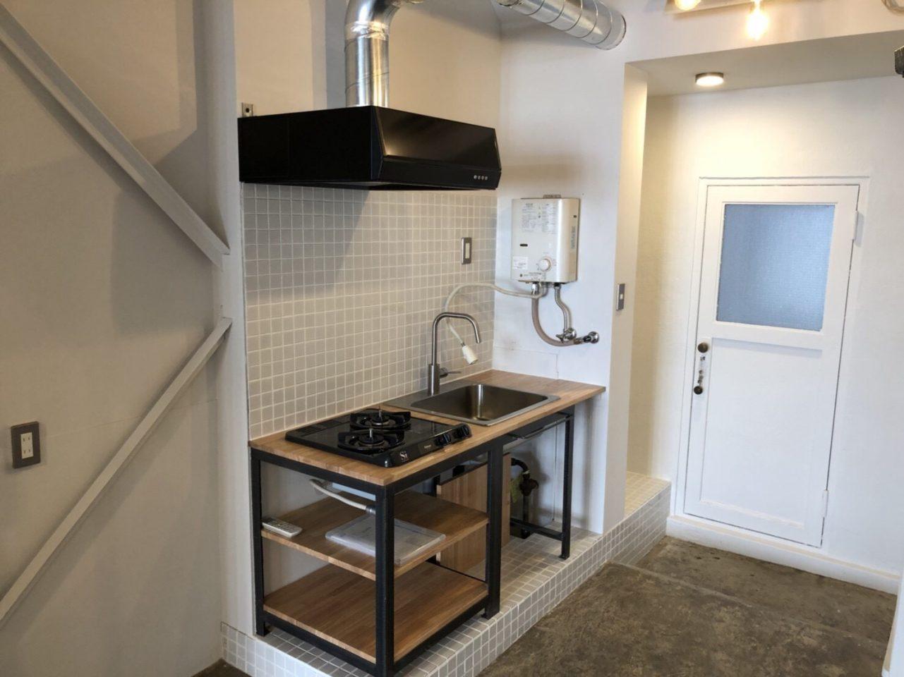 Creator's District浅草橋 | 小さなキッチンもあります。