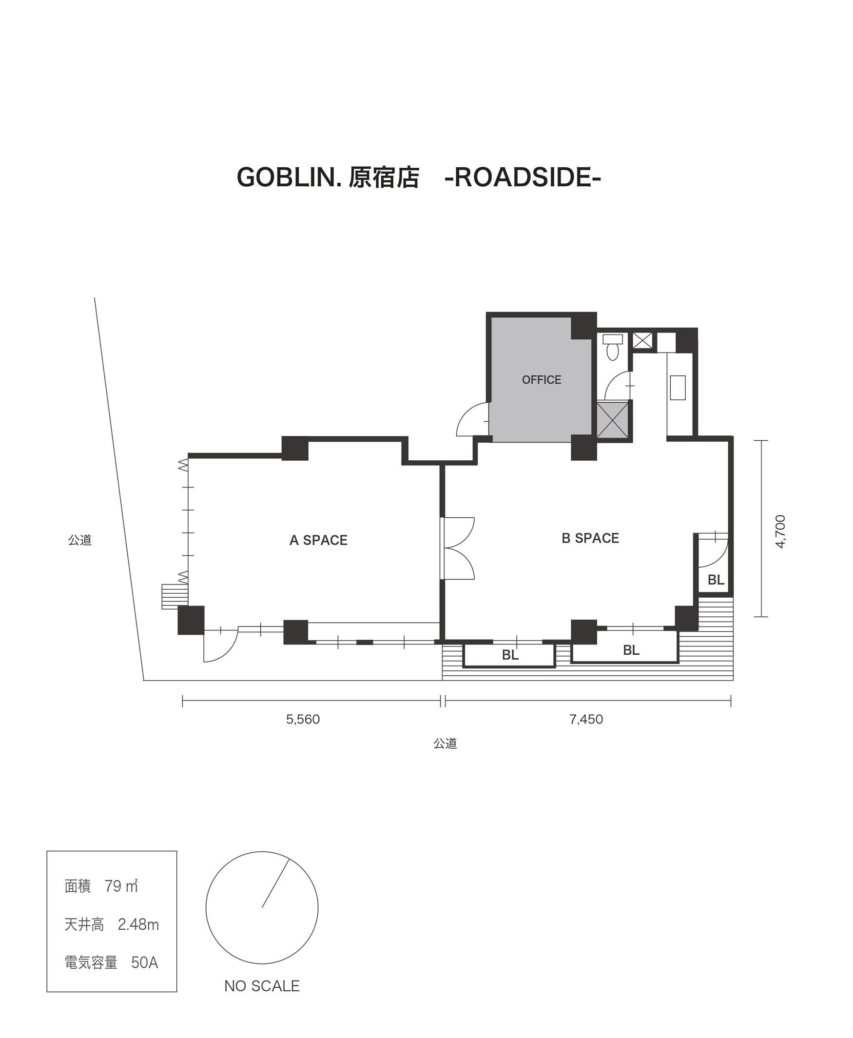GOBLIN.原宿-ROADSIDE- (ID:10060) 図面