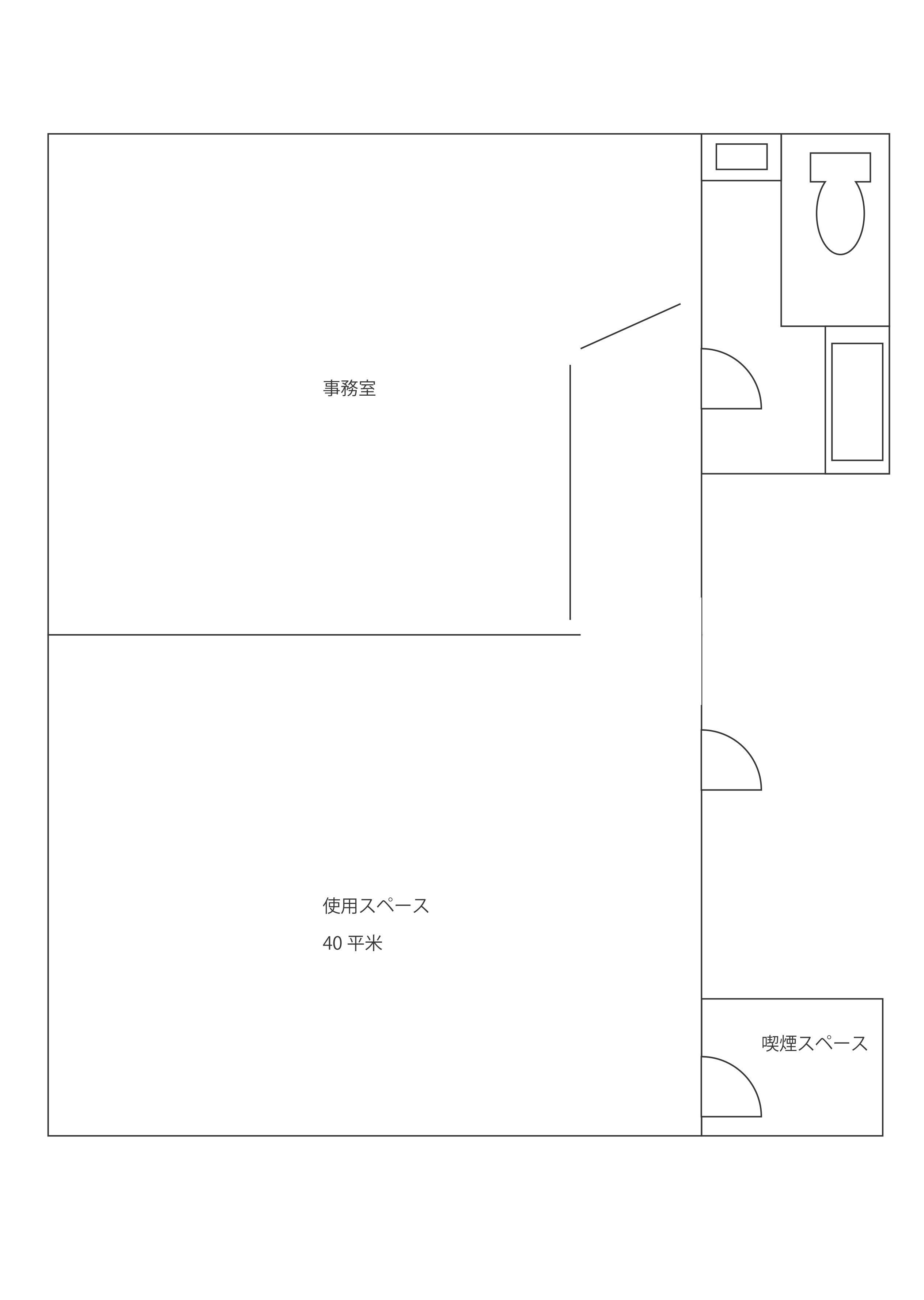 LIMレンタルスペース (ID:) 図面