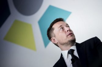 "(FILES) In this file photo taken on July 19, 2017 Elon Musk, CEO of SpaceX and Tesla, speaks during the International Space Station Research and Development Conference in Washington, DC. Musk will only get paid if the company's stock soars but would receive a stunning sum if it does, according to a plan approved by shareholders on march 21, 2018. A Tesla spokesperson confirmed that shareholders voted to approve the proposal for a multi-billion-dollar, 10-year performance stock award ""entirely contingent on achieving market cap and operational milestones that would make Tesla one of the most valuable companies in the world.""  / AFP PHOTO / Brendan Smialowski"