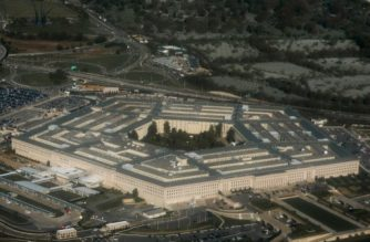 The Pentagon in Arlington, Virginia outside Washington, DC is seen in this aerial photograph, April 23, 2015. AFP PHOTO / SAUL LOEB / AFP PHOTO / SAUL LOEB