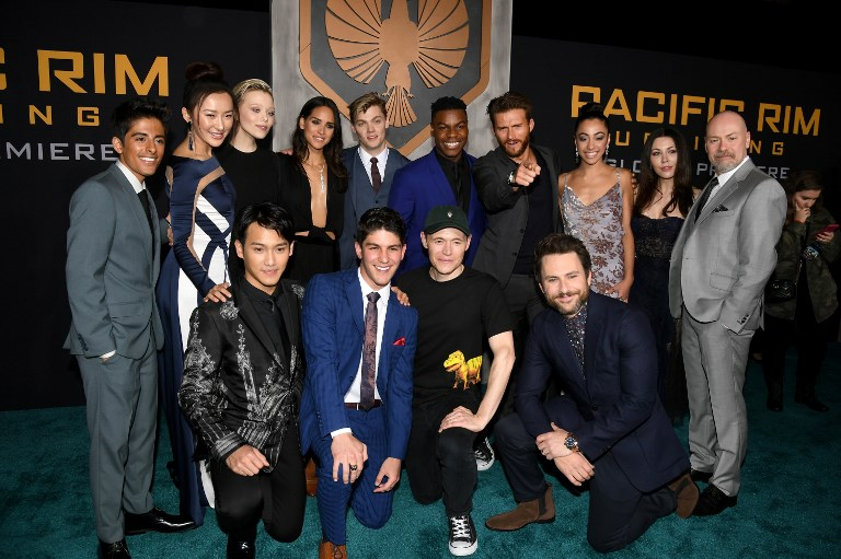 the cast of pacific rim uprising