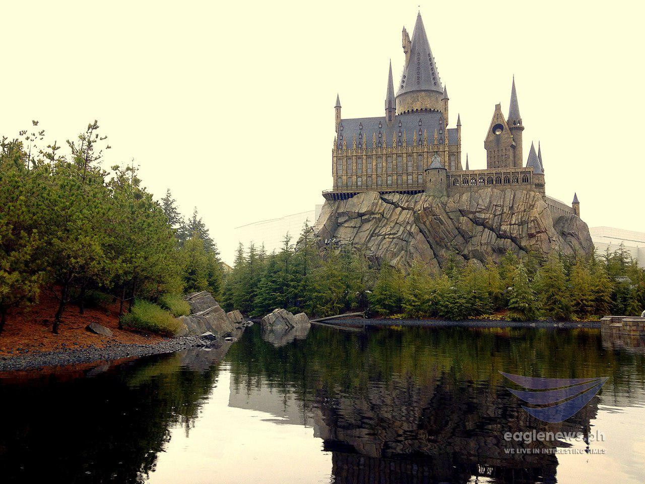 #EBCphotography:  A view of the Wizarding World of Harry Potter at the Universal Studios in Japan