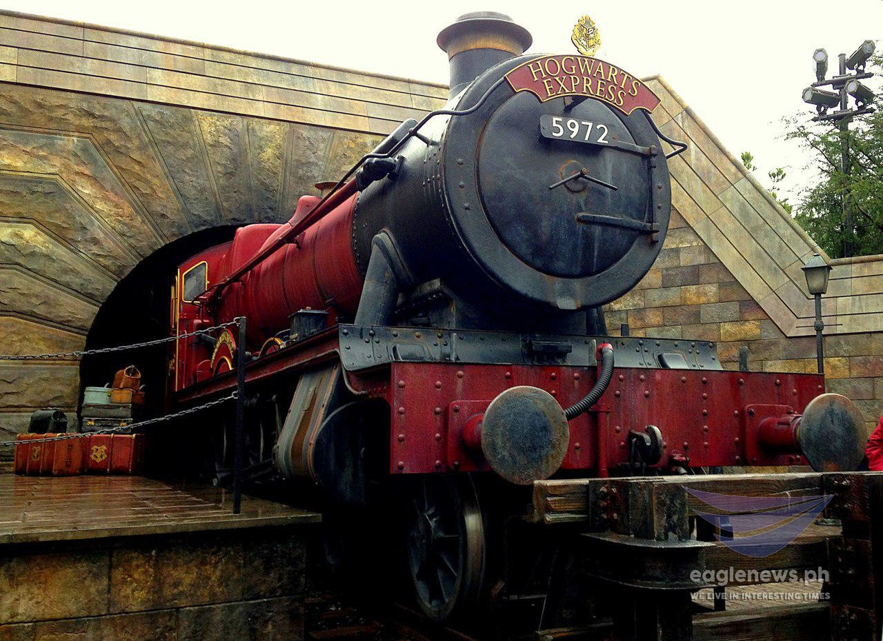 #EBCphotography:  The Hogwarts Express made real at the Universal Studios in Osaka, Japan