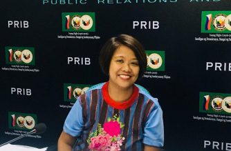 Senator Nancy Binay at the Kapihan sa Senado on Thursday, March 7. /Meanne Corvera/Eagle News Service/