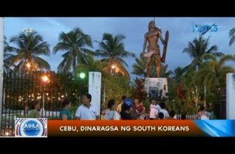 Cebu, dinaragsa ng South Korean nationals