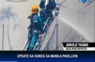 Death toll in Manila Pavilion fire climbs to five